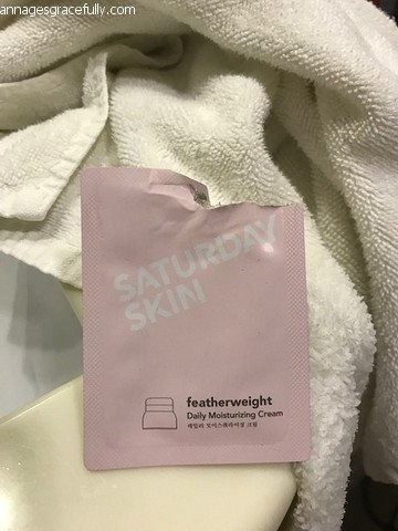 Saturday Skin Featherweight cream