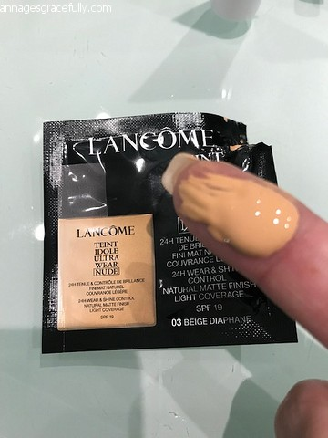 Lancome ultra teint foundation
