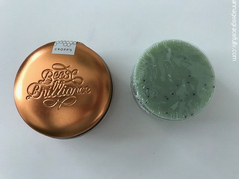 Bees Brilliance Kiwi soap