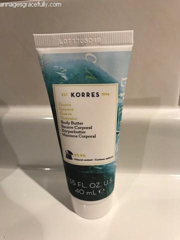 Korres body butter