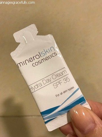 Mineral skin cosmetics Hydra day cream SPF 35