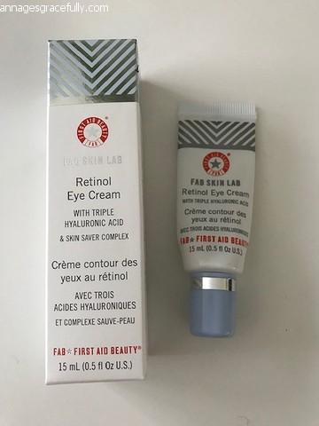 First Aid Beauty Retinol eye cream
