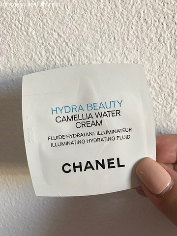 Chanel camellia water cream