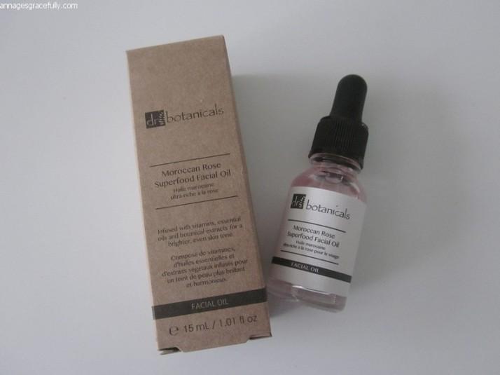 Dr. Botanicals Moroccan Rose facial oil