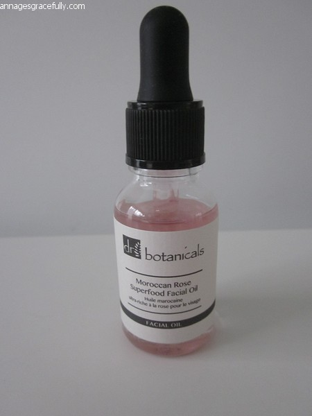 Dr. Botanicals Moroccan Rose Superfood facial oil
