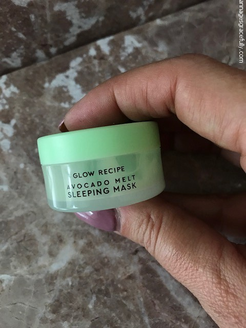 Glow recipe avocado melt sleeping mask