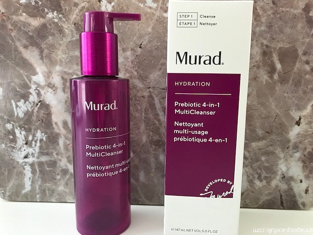 Murad prebiotic 4-in-1 multicleanser